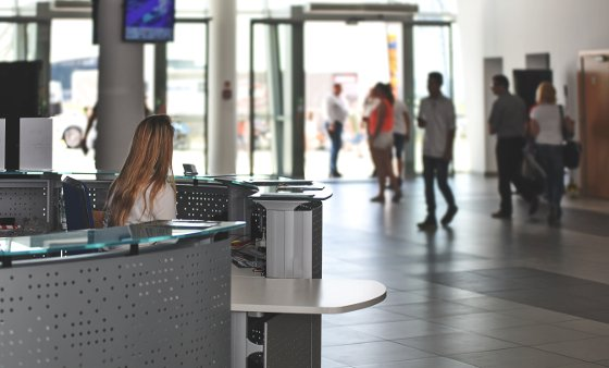 Efficient visitor management system
